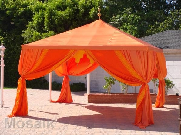 & Moroccan tents drapping