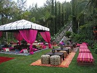Moroccan tents drapping